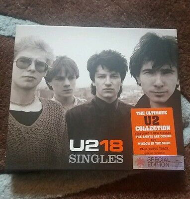 U2 - Singles (U218) (CD 2006) Special Edition with numbered card outer case. NEW