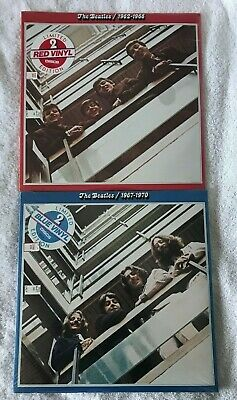 The Beatles 1962-1966 & 1967-1970 Sealed LP (Red & Blue Colored Vinyls)