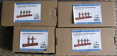 SharkBite Copper 4-Outlet  Manifold X - 3, PLUS 1- 2-OUTLET MANIFOLD. ALL NEW !!