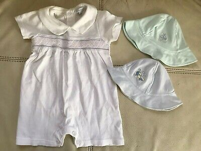 Hug Me First baby boy infant unisex 3 pcs set 6-9 months summer clothes Cotton