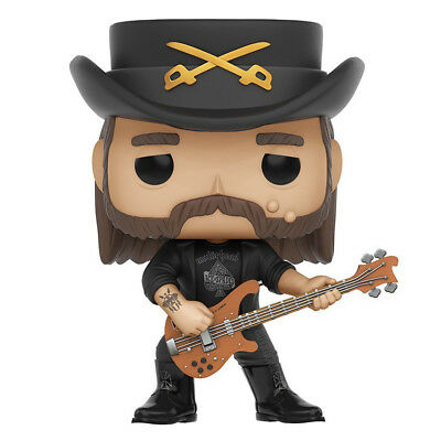 Motorhead Collectible: Handpicked Funko Pop!Rocks Lemmy Kilmister Figure #49