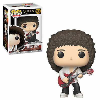 Queen Collectible: Handpicked 2018 Funko Pop! Rocks Brian May Red Guitar Figure