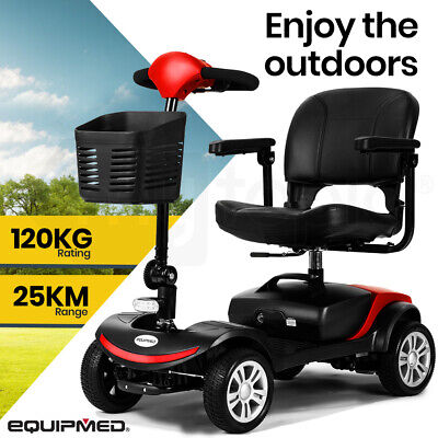 【UP TO 20%OFF】EQUIPMED Mobility Scooter Electric Motorised Power Portable 4