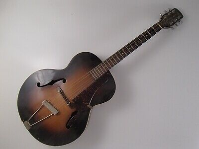 Gretsch New Yorker archtop guitar for parts or repair model 6050