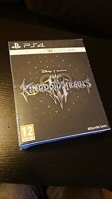 Kingdom Hearts ( 3 ) III Deluxe Edition PS4 New & Sealed UK PAL In Stock Now
