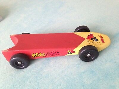 Vintage BSA Boy Cub Scout Pinewood Derby Weighted Car