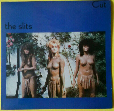 SLITS - Cut (1979 LP w/custom inner and disc labels on UK Island) M-/EX+