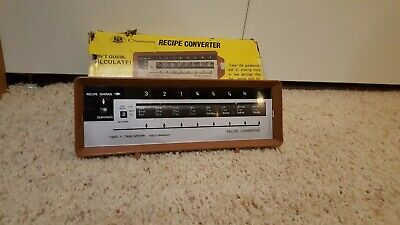Vintage Chadwick Receipe Converter Tabletop Display