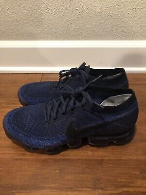 NIKE AIR VAPORMAX FLYKNIT Midnight Navy Black 849558 400 SZ 10.5