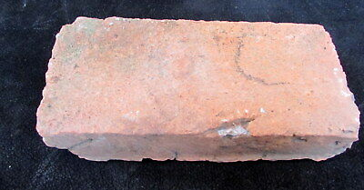 ORIGINAL 1600's RED BRICK FROM PETER SCHUYLER HOME MENANDS ALBANY NEW YORK
