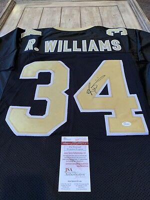 Ricky Williams Autographed Signed Jersey JSA COA New Orleans Saints Texas 8b2100cf0