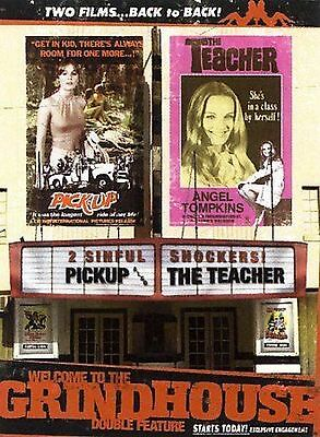 DVD Welcome to the Grindhouse 2 Movies Pick-Up & The Teacher (DVD, 2007) NEW