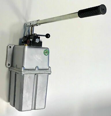 45ccm Double Acting Hand Pump with 5L Tank, Hydraulic Pneumatic Handpump Pumps