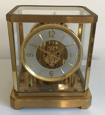 Rare! Serviced Late 1940's Jaeger LeCoultre Atmos II Clock- Working!