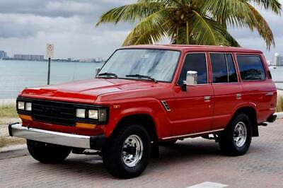 1990 Land Cruiser Base 4dr 4WD SUV 1990 Toyota Land Cruiser 4dr 4WD SUV 188,983 Miles Red SUV 4.0L I6 ONE OF A KIND