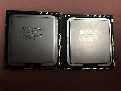PAIR Intel Xeon E5540 SLBF6 2.53GHZ LGA1366 Quad Core 8 Threads CPU Processor