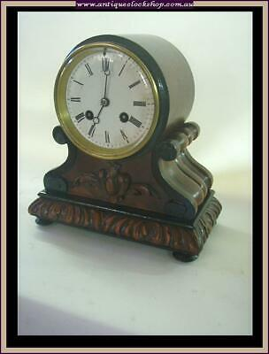 Cute French Mantle Clock Part Of Huge Clock Collection Of 40 Year 120+ Clocks