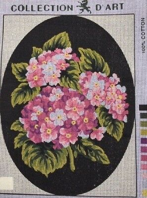 Tapestry - Printed Canvas - Flowers - Made in E.U for Collection D'Art
