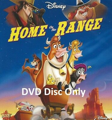 Disney Home on the Range DVD Only | Region 1 | Disc is Brand New