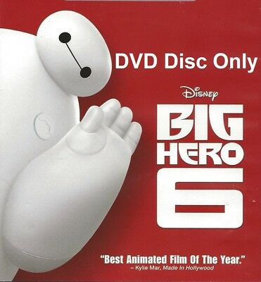 Disney Big Hero 6 DVD Disc Only | Region 1 | Disc is Brand New