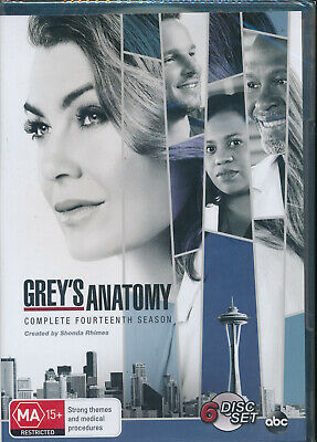 Grey's Anatomy Complete Fourteenth Season 14 DVD Region 4 NEW
