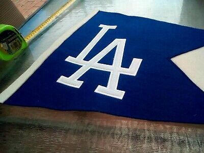 La Dodgers Pennant Flag Genuine Merchandise By Winning Streak Sports Collectable