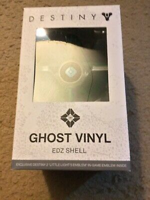 Destiny 2 EDZ Ghost Vinyl Shell with Little Lights In Game Emblem Bungie New