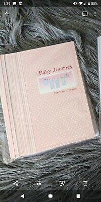 Baby Girl Record Book 0-12 Month Journal Keepsake