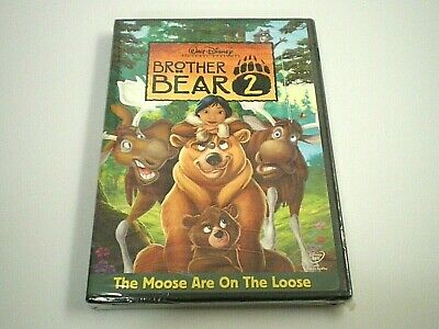 New & Factory Sealed BROTHER BEAR 2 [Walt Disney Pictures DVD Movie Film, 2006]