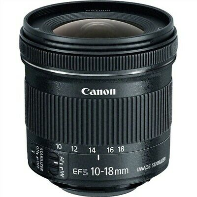 Canon 10-18mm f/4.5-5.6 EF-S IS STM Lens - Wide angle - great for landscapes