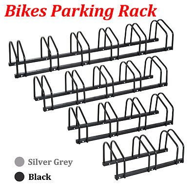 New 1- 6 Steel Cycling Bike Parking Rack Floor Wall Mount Instant Storage Stand