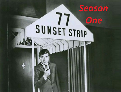 77 Sunset Strip Complete Season 1+ Pilot Best Quality Availble Not A Vhs Copy