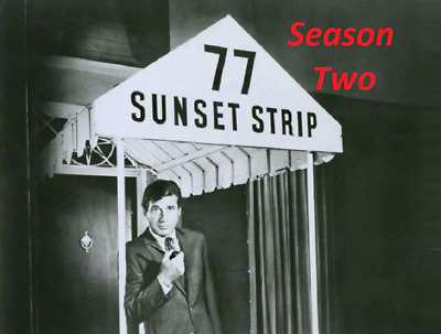 77 Sunset Strip Complete Season 2 Best Quality Availble Not A Vhs Copy