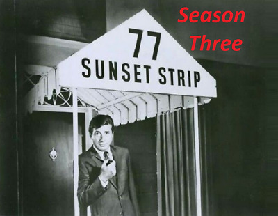 77 Sunset Strip Complete Season 3 Best Quality Availble Not A Vhs Copy