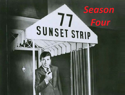 77 Sunset Strip Complete Season 4 Best Quality Availble Not A Vhs Copy