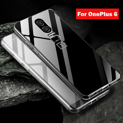 Ultra slim silicone coque Souple TPU Transparent protection pour ONEPLUS 6 5 4