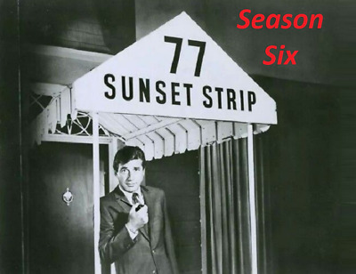 77 Sunset Strip Complete Season 6 Best Quality Availble Not A Vhs Copy