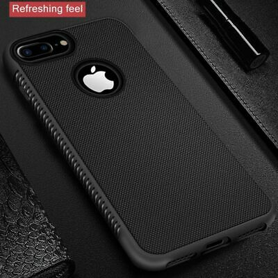 Rugged Back Cover iPhone 6s 6 7 8 Plus X Xr Xs Max Cover Silicon Bumper Matte