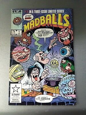MADBALLS Vintage 1 hard to find 1st print 1985  MINI-SERIES! Fine
