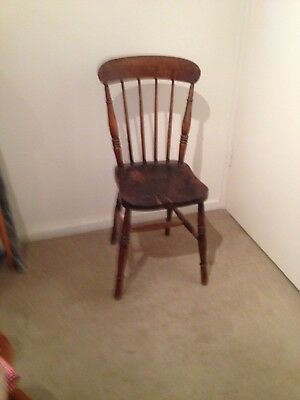 Antique Dining Chair Provincial Farm