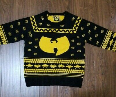 Urban Outfitters Ugly Christmas Sweater.Official Wu Tang Clan Urban Outfitters Ugly Christmas Sweater