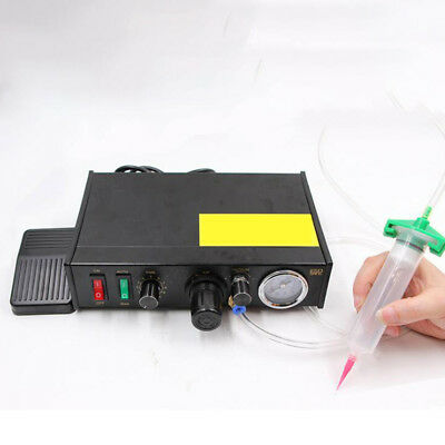 New Semi-Automatic Glue Dispenser Machine Solder Paste Liquid 110V/220V 0.01ml