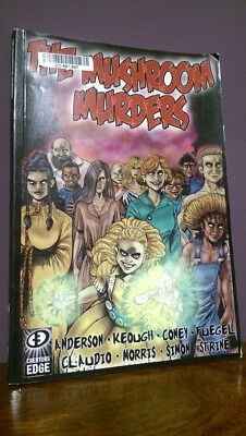 The Mushroom Murders Graphic Novel Paperback by Chad Anderson | (2013)