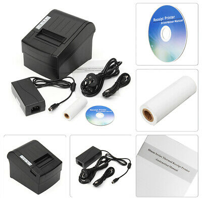 Wireless POS Thermal Receipt Printer 80mm WIFI Auto Cutter 300mm/s POS-8220