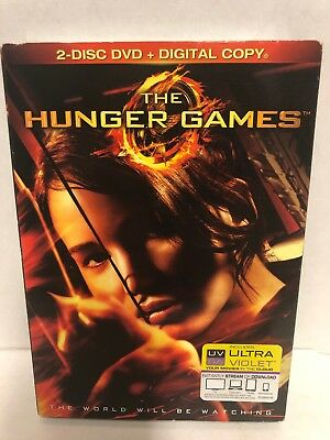 The Hunger Games (DVD, 2012, 2-Disc Set) Jennifer Lawrence BRAND NEW SEALED