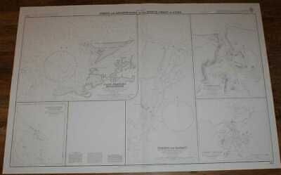 Nautical Chart No.425  West Indies - Ports and Anchorages on North Coast of Cuba