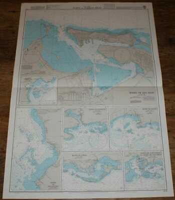 Nautical Chart No. 478 West Indies - Ports in Puerto Rico