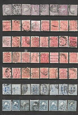 BulAustralia/New South Wales State Stamps  x 56 good used/fine used  1/2d/2d