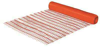 50M ORANGE Barrier Fencing Plastic Fence Mesh Netting Roll Building Site Safety