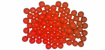 New Legion Rubberballs / Gummibälle cal. 68 - Pot 100 Stück - orange